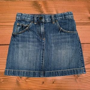 CREWCUTS Denim Mini Skirt
